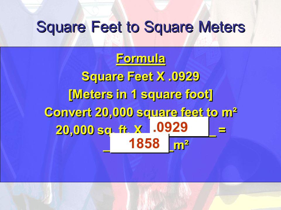 Convert Square Feet To Square Meters Convert Square