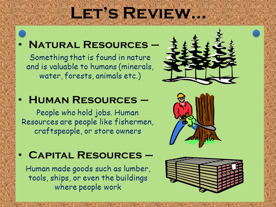 Difference Between Natural And Human Made Resources