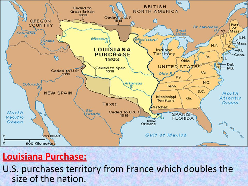 Aim How Have Geographic Factors Influenced The History Of The - Map of us purchases
