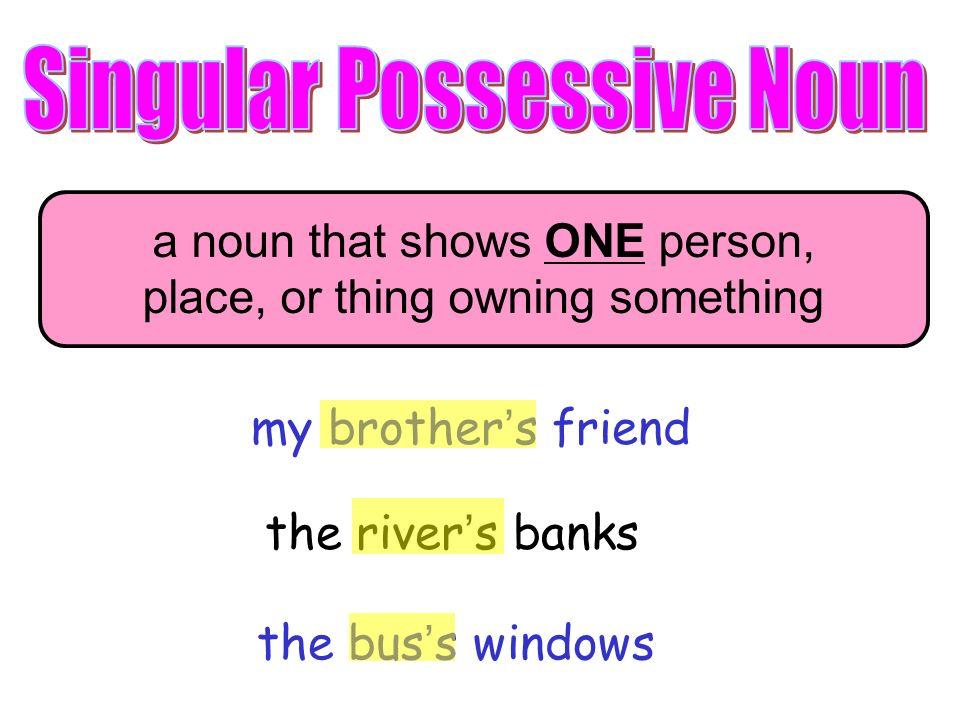 Plural Possessive Nouns Ppt Video Online Download