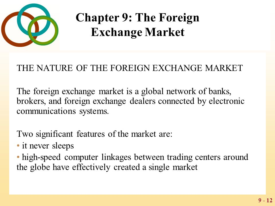 Gets global exchange trading system