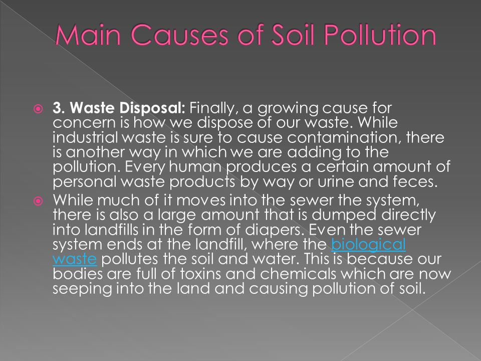 Soil pollution the way to destruction ppt video online for Soil full form