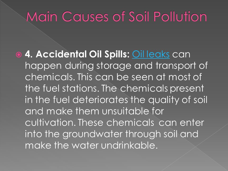 Soil Pollution The Way To Destruction Ppt Video Online