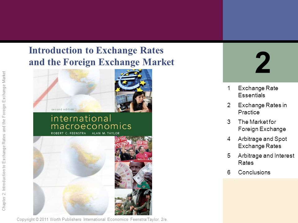 Foreign exchange rate market