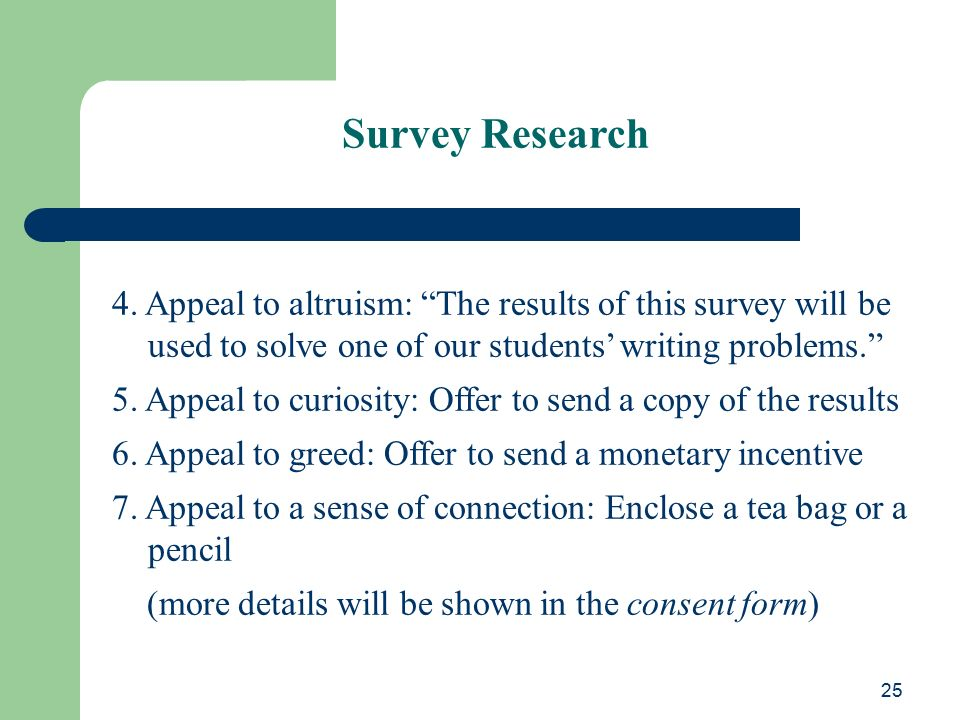 Research Paper Writing ppt download – Survey Consent Form