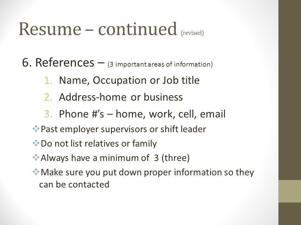 applying for a job resume  u2013