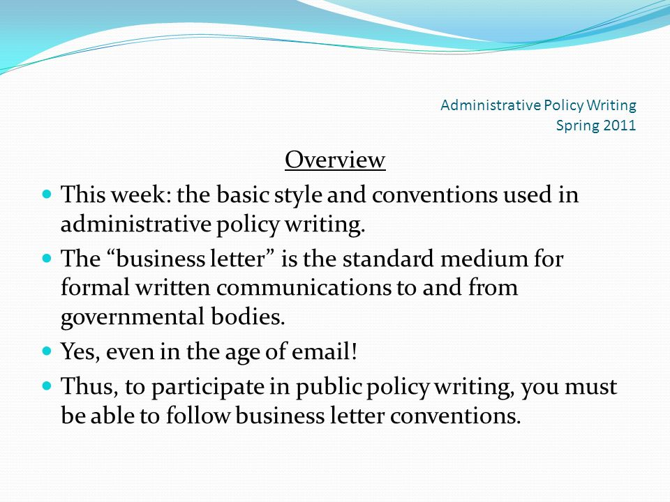 Business Letter Format and Ethics ppt download – Standard Business Letter Format
