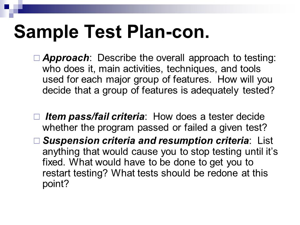 Software Testing Lifecycle Practice - Ppt Video Online Download
