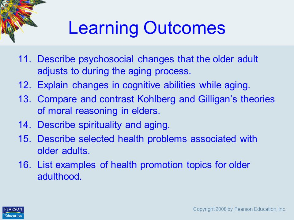 disability and ageing theories comparison 04062016 quick facts: cognitive disability dementia is a serious loss of cognitive ability in a previously unimpaired person, beyond what might be expected from.