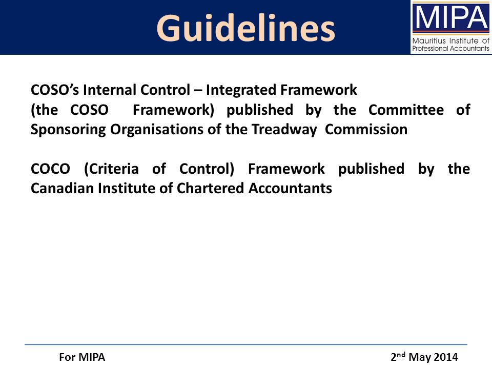 coso internal control integrated framework pdf