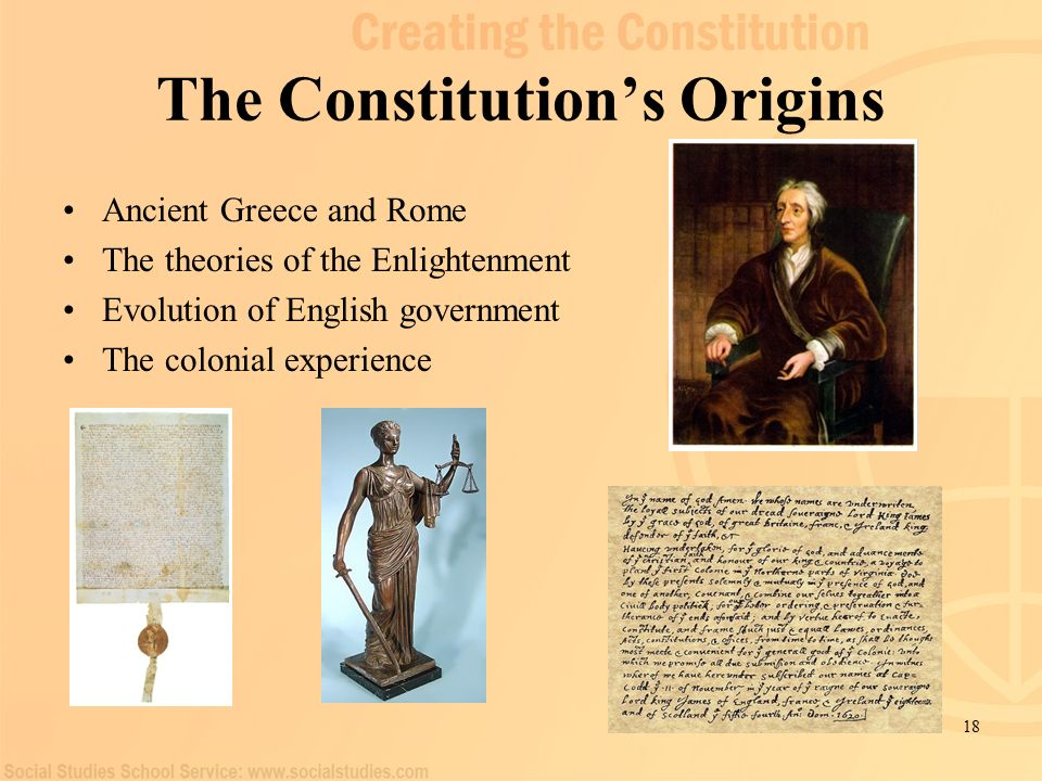 the evolution of constitutional governments in Historystategov 30 shell  the constitutional convention in philadelphia met  between may and september of 1787 to address the  under the articles of  confederation, the federal government faced many challenges in conducting  foreign.