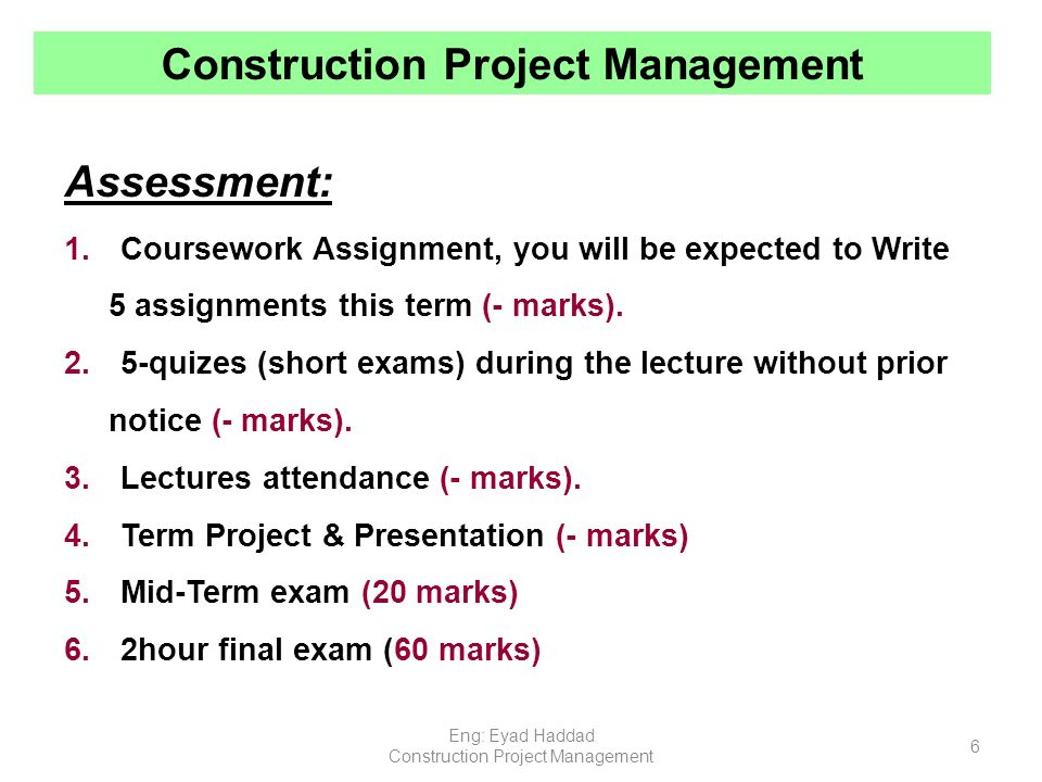 construction project management ppt video online  construction project management