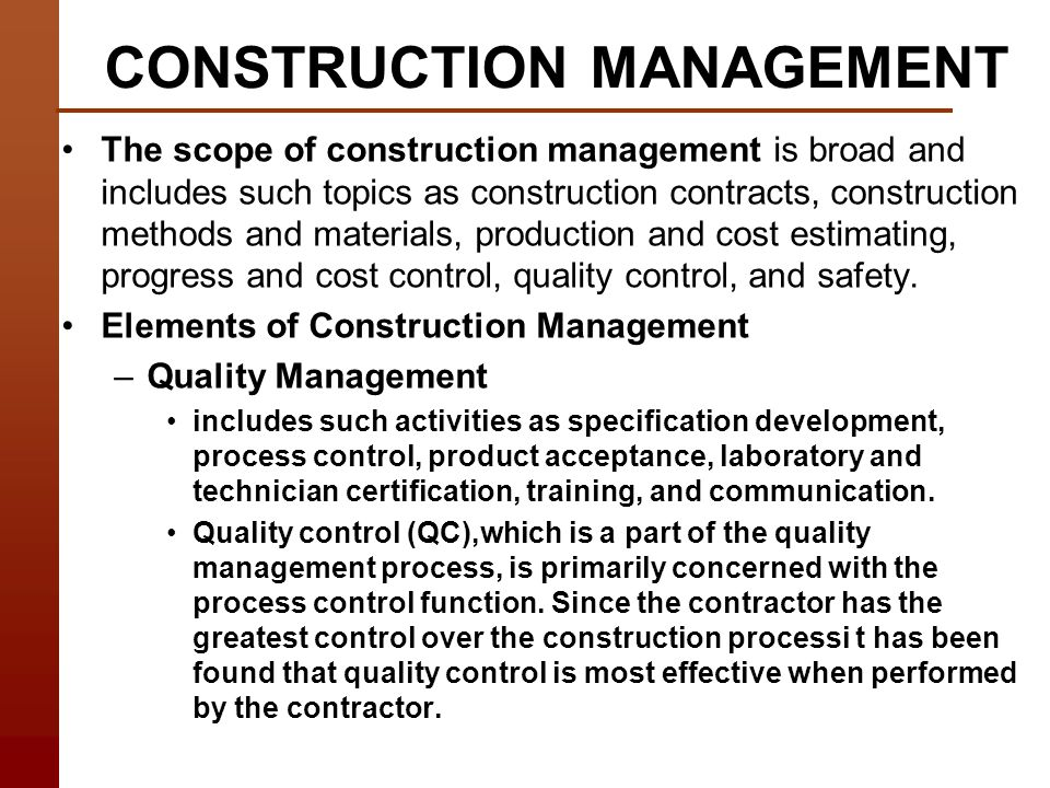 Construction technology course introduction and objectives ppt construction management yelopaper Choice Image