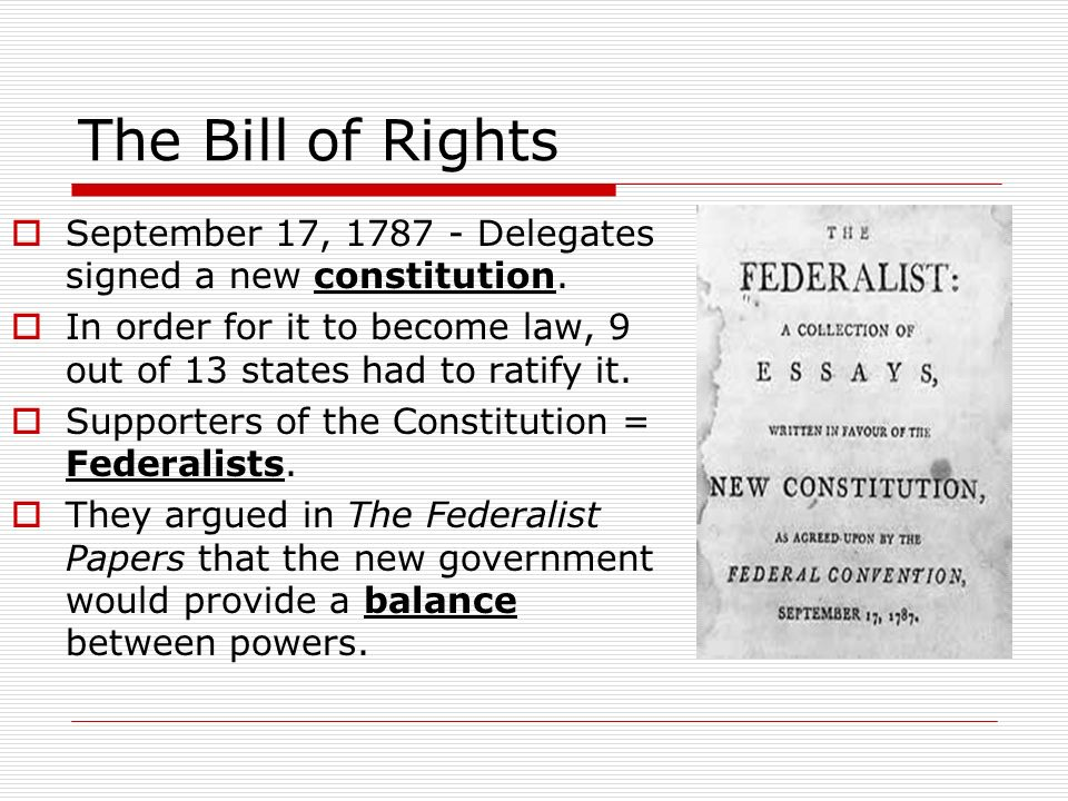 essay on the english bill of rights The bill of rights is the first ten amendments to the united states constitution proposed following the often bitter 1787-88 battle over ratification of the us constitution, and crafted to address the objections raised by anti-federalists, the bill of rights amendments add to the.