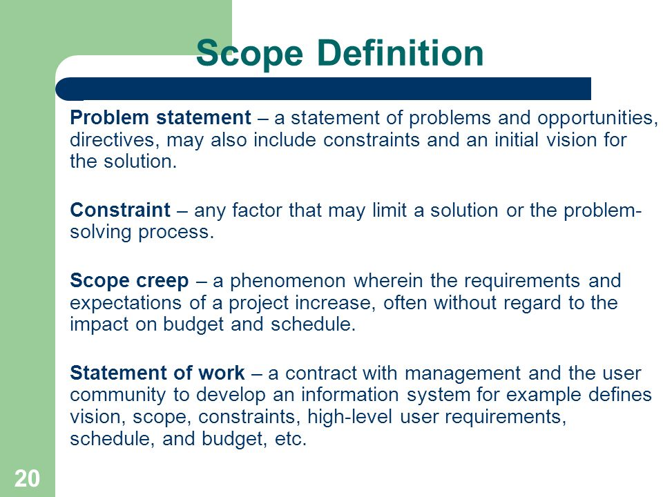 Common Problems in Management Information Systems