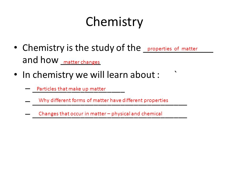 Chapter 1 - Chemistry: The Study of Change - Questions ...