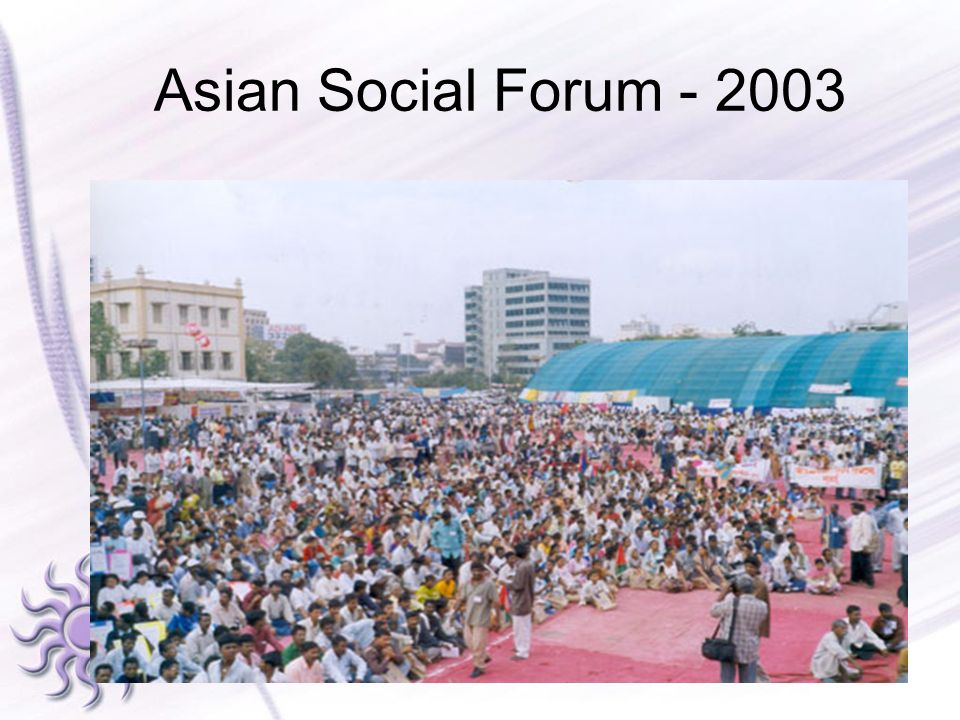 Asian Social Forum - 2003