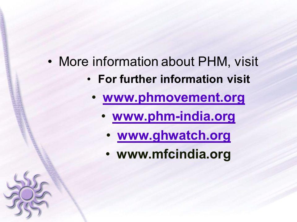 For further information visit