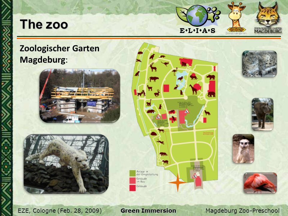 The zoo Zoologischer Garten Magdeburg: All about the zoo.