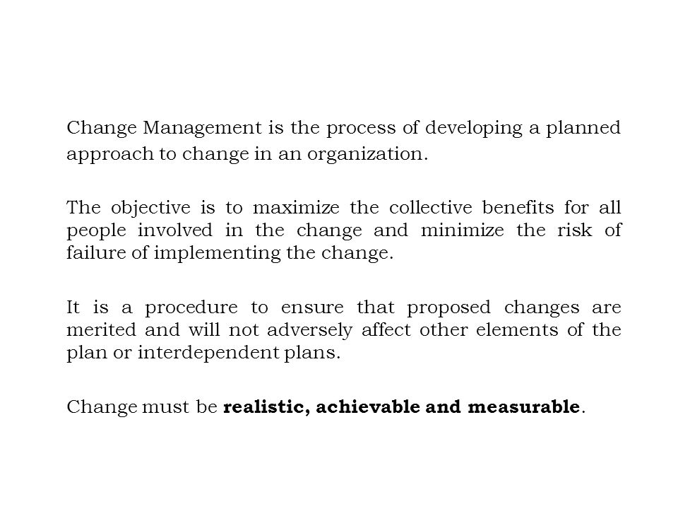 planned approach to change is still Stages of change phase iv handout, iv-h-6 described on page cg5-20 timetable phase iv overheads, iv-o-11 he planned approach to community health (patch) is a.