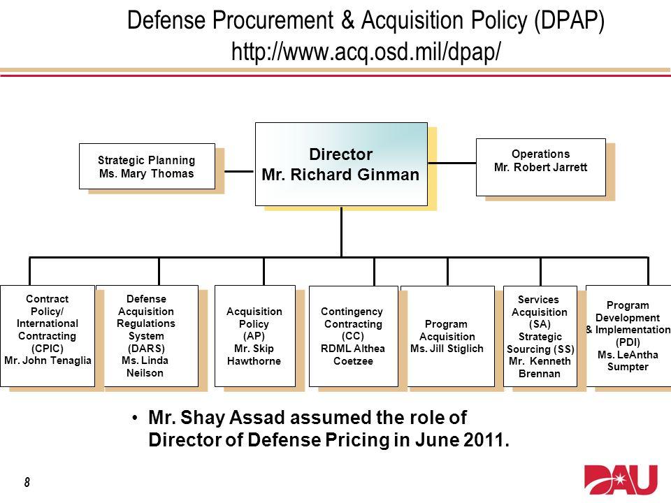 Defense Procurement & Acquisition Policy (DPAP) http://www. acq.