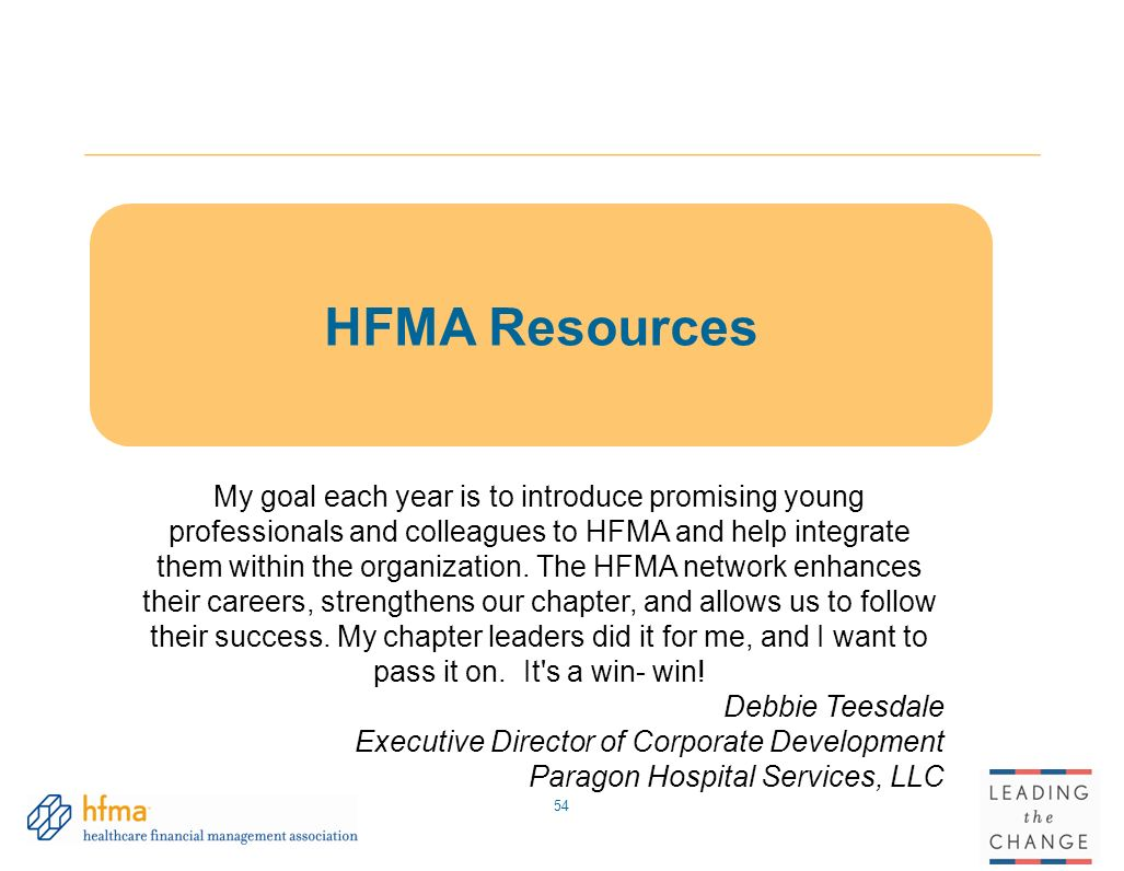 Leading the change solutions for todays healthcare challenges hfma resources xflitez Images