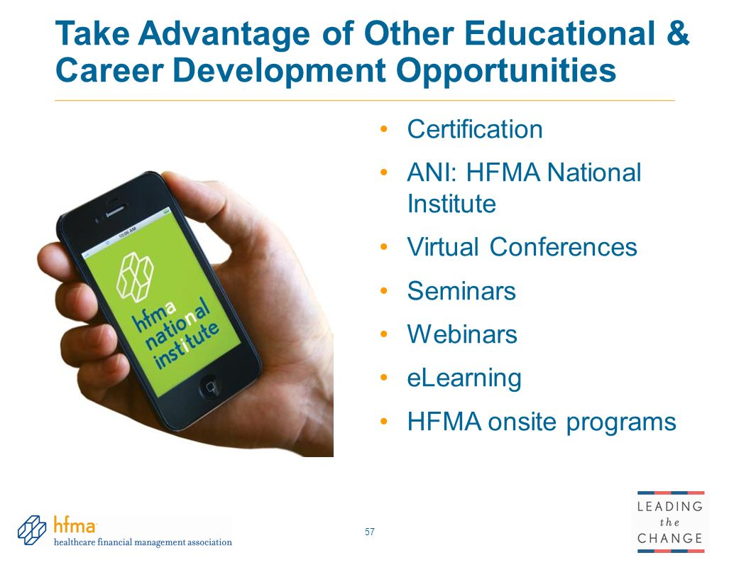 Leading the change solutions for todays healthcare challenges take advantage of other educational career development opportunities xflitez Images