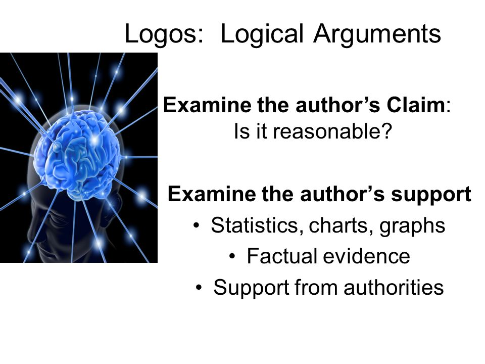 Logos: Logical Arguments