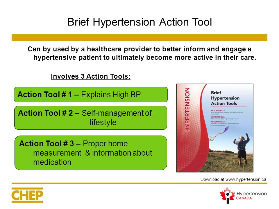 Brief Hypertension Action Tool