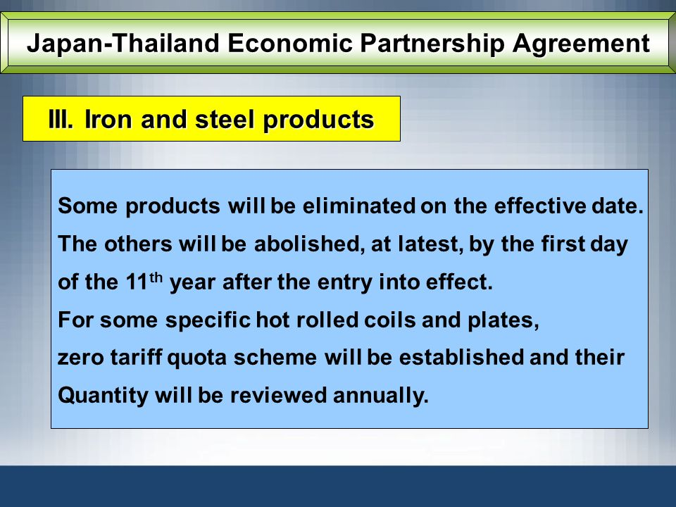 Japan-Thailand Economic Partnership Agreement