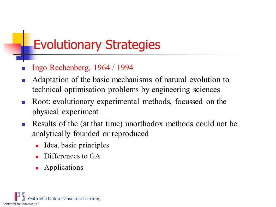 Evolutionary Strategies
