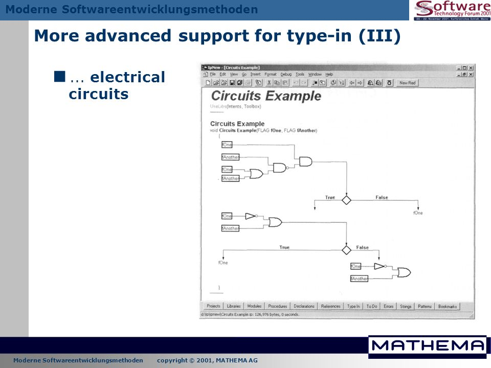 More advanced support for type-in (III)