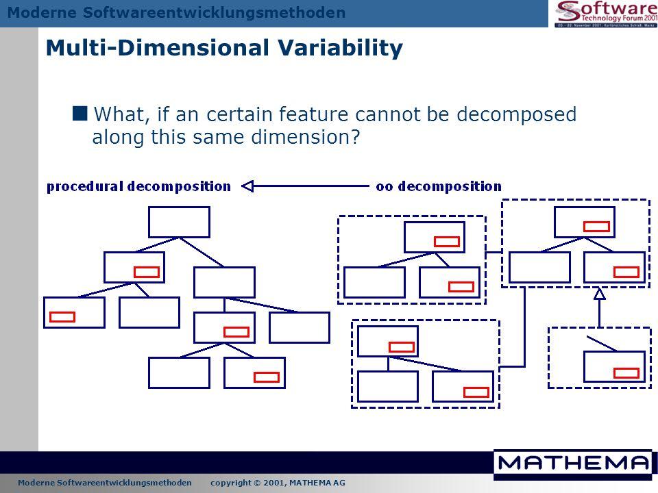 Multi-Dimensional Variability