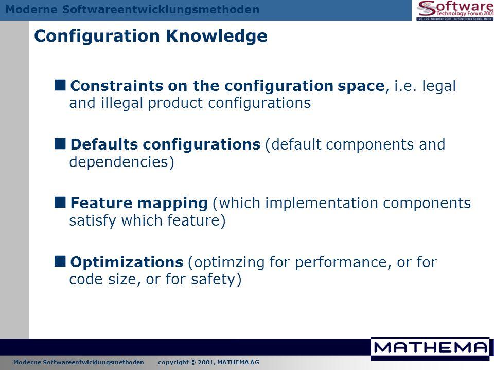 Configuration Knowledge