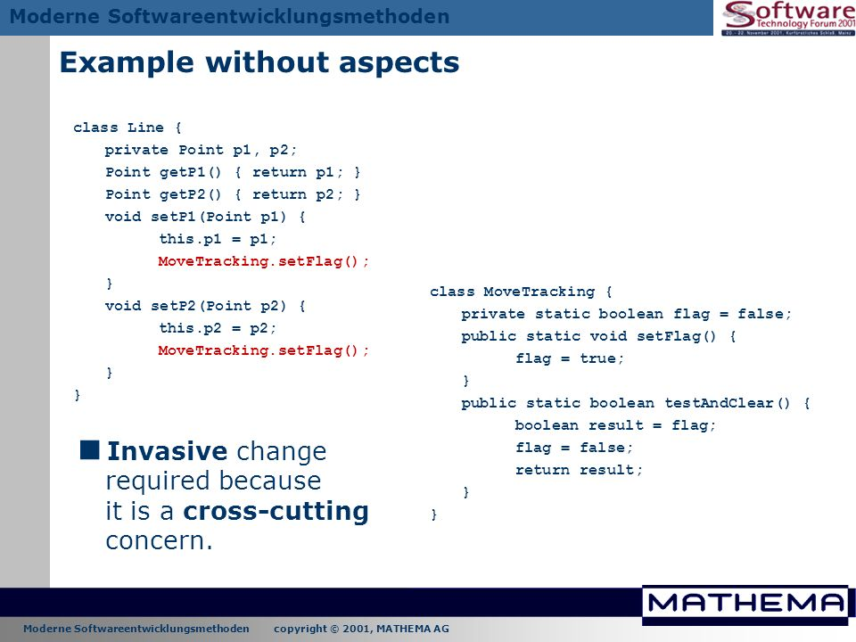 Example without aspects