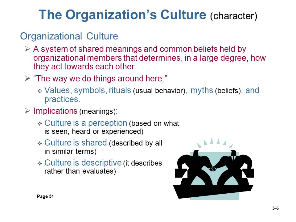 The Organization's Culture (character)
