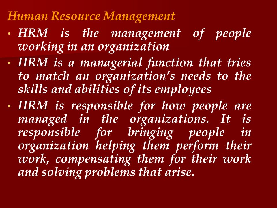 human resource escape to the Supervisors should consult with human resources before discharging a staff member reasons for discharge should be documented in writing, with copies to (a) the staff member, (b) the departmental file, and (c) the central personnel file in human resources.