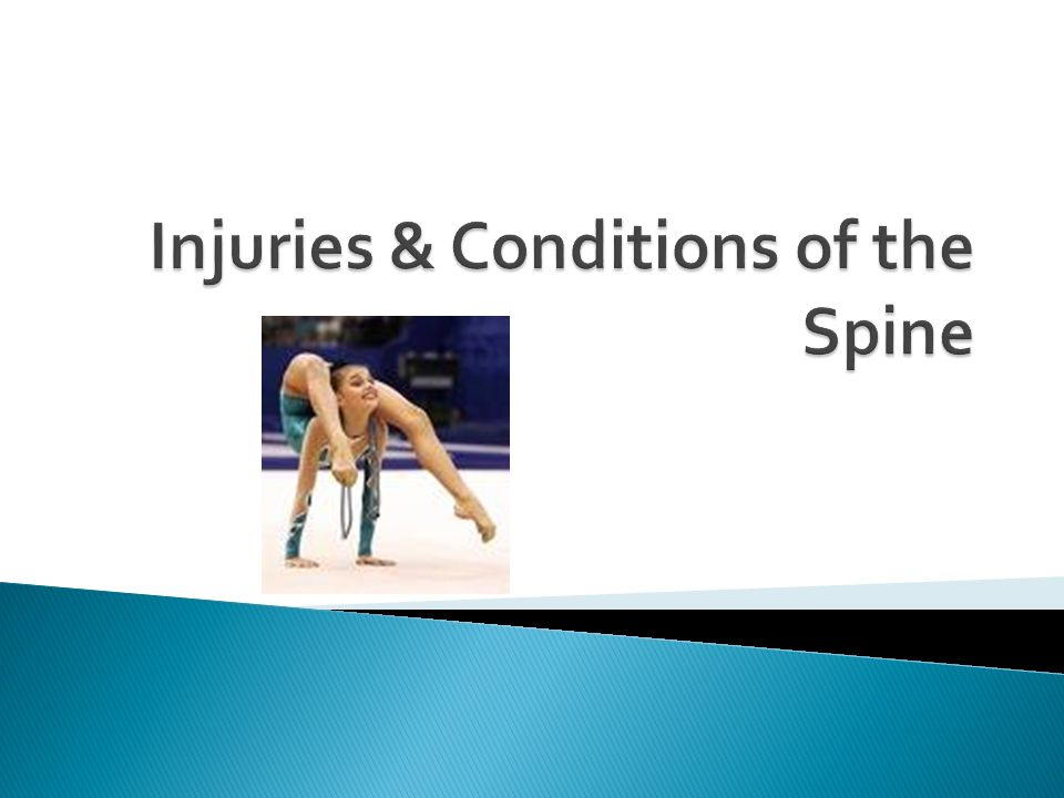 Injuries & Conditions of the Spine