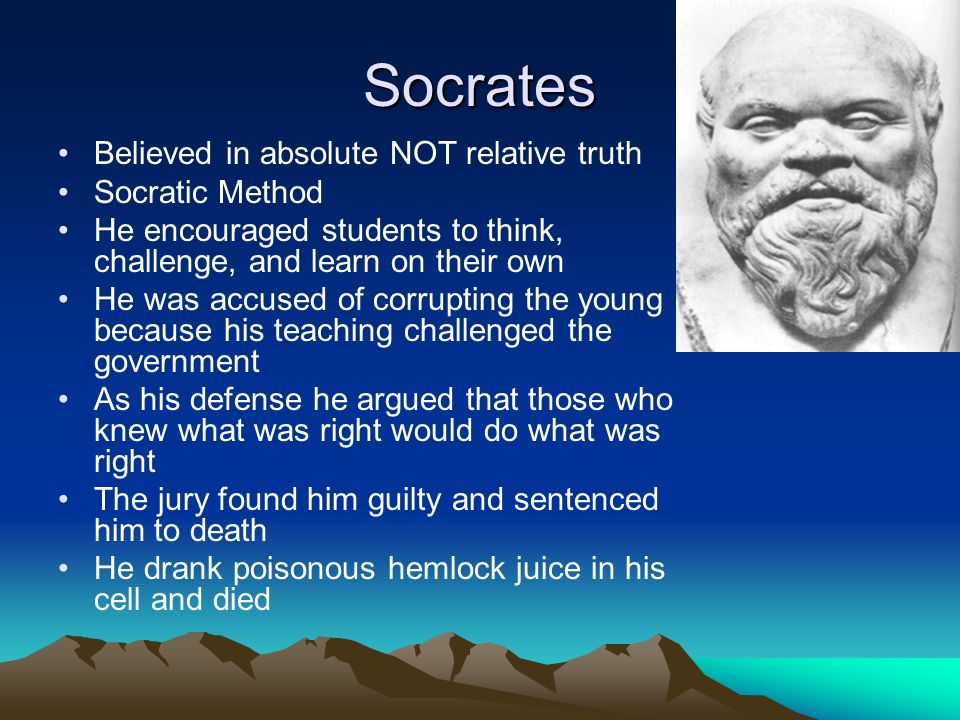 socrates challenge to the jury Presocratic philosophy and the sophists socratic themes in plato's apology   what seems to have concerned the jurors was not only socrates' challenge to.