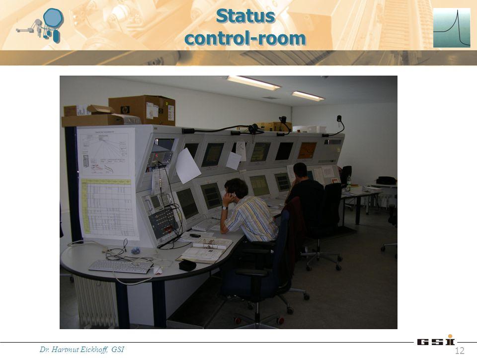 Status control-room