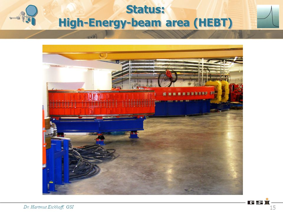 Status: High-Energy-beam area (HEBT)