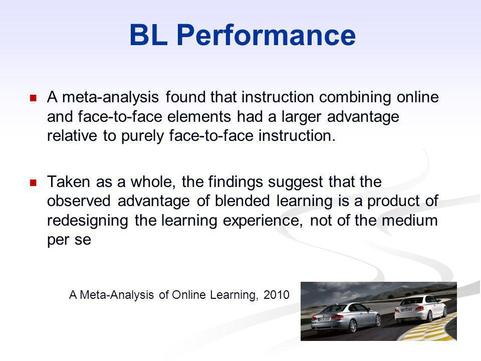 BL Performance