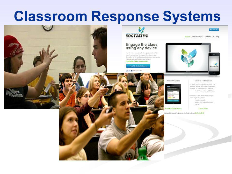 Classroom Response Systems