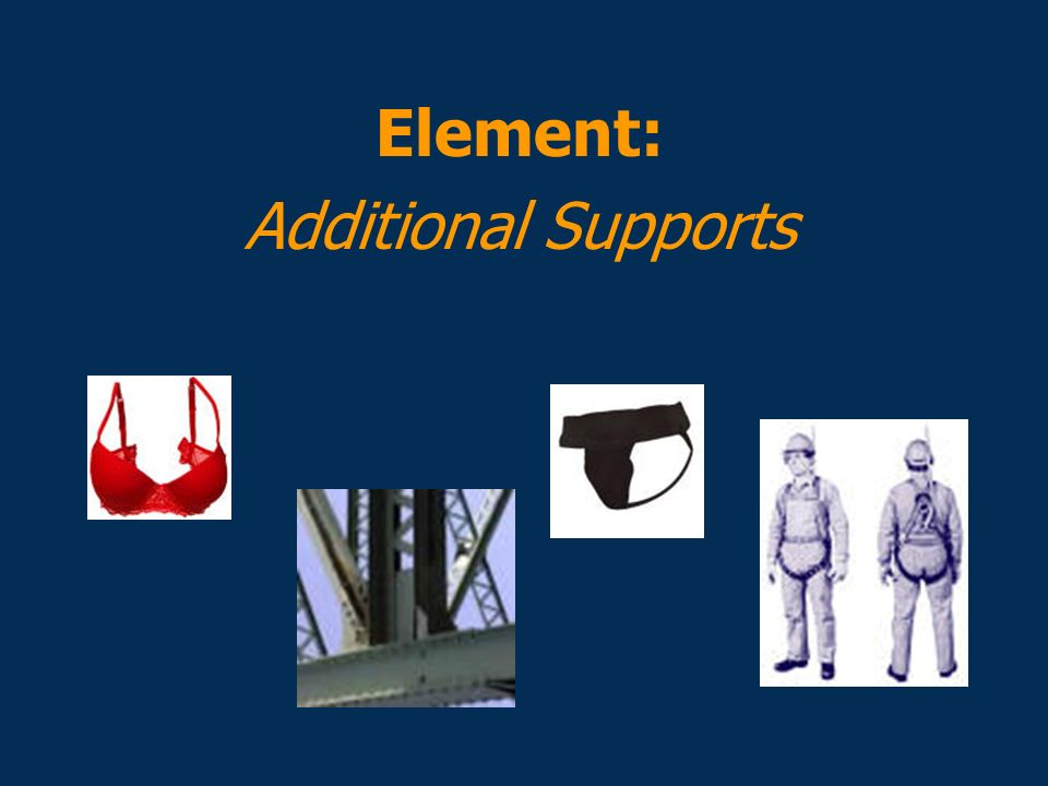 Element: Additional Supports