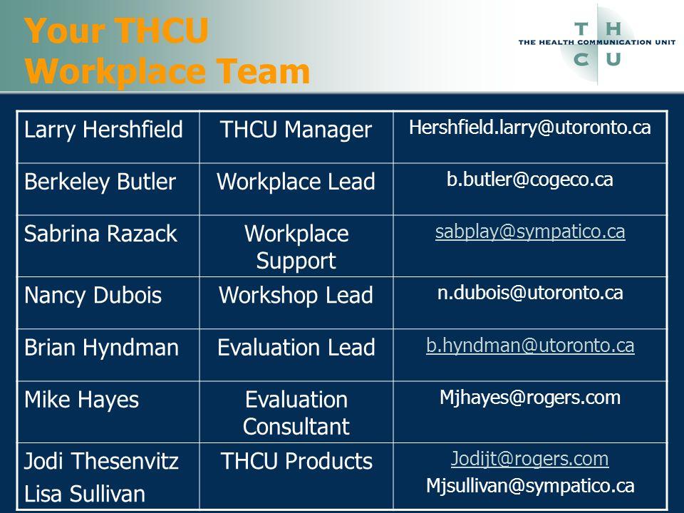 Your THCU Workplace Team