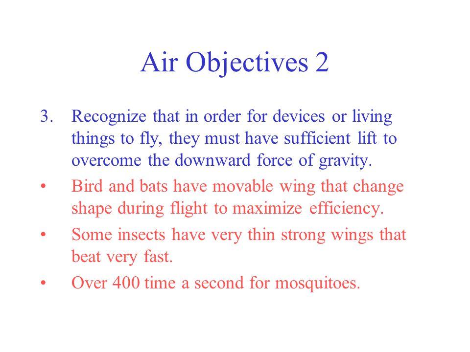 Air Objectives 2