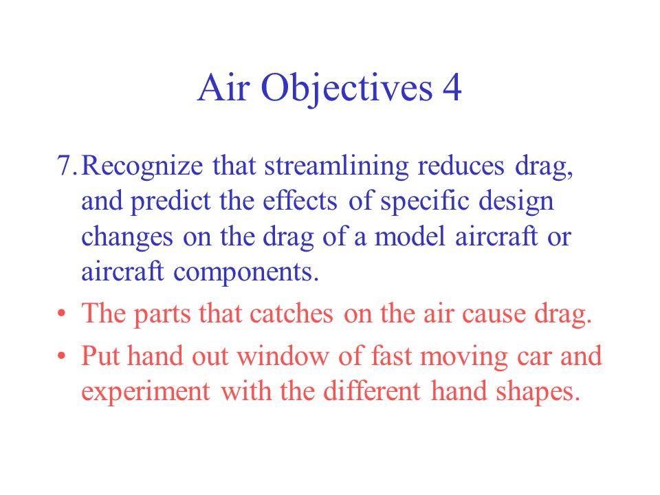 Air Objectives 4