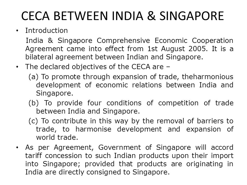 bilateral relationship between india and singapore