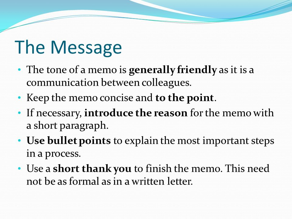 Memorandums  Ppt Download