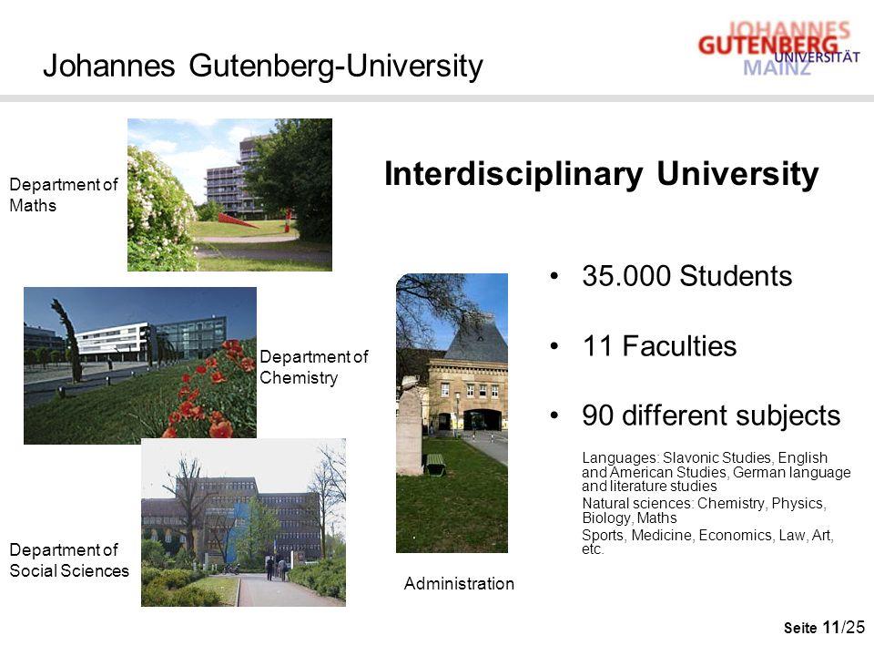 Johannes Gutenberg-University